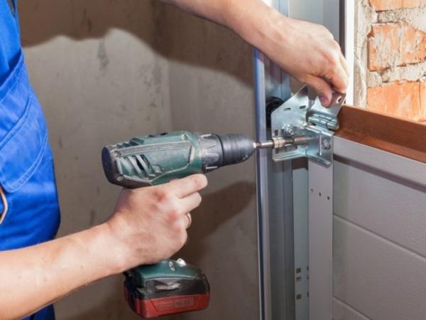 Garage Door Sectional Panel Replacement
