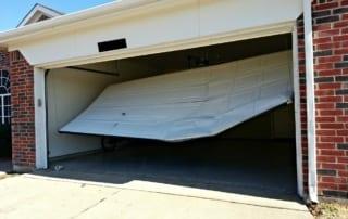 bent-garage-door-repair